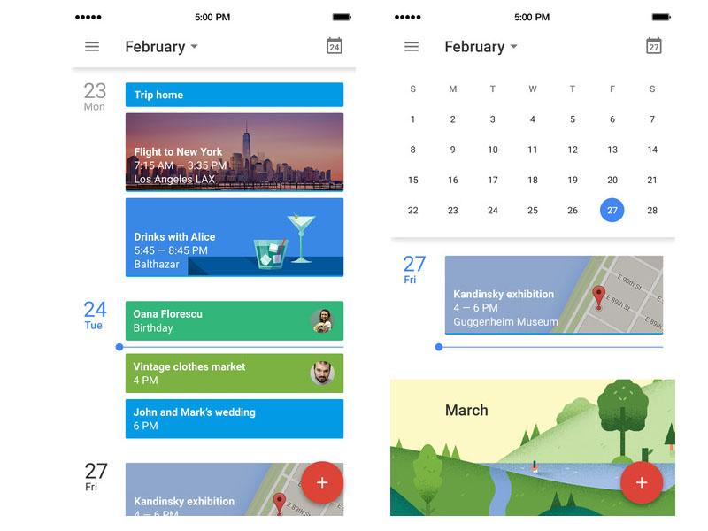 Google Calendar scr1