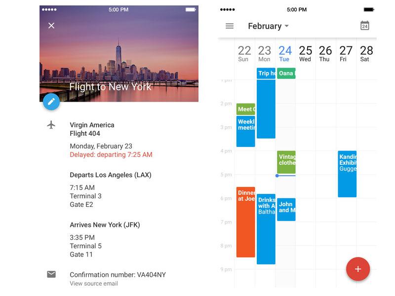 Google Calendar for iOS scr2