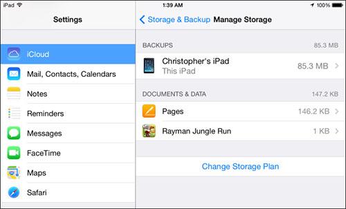Free Up iCloud Storage Space scr2