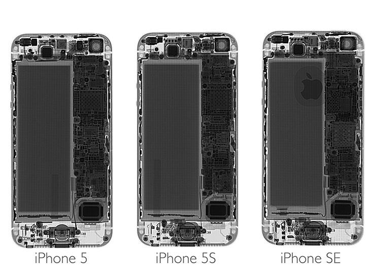 iFixit iPhone SE scr1