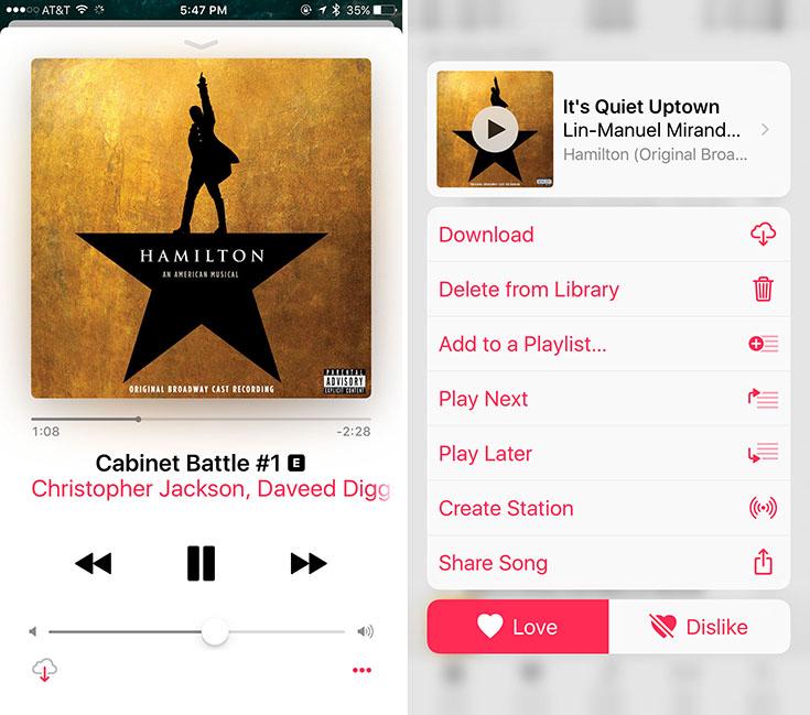 Apple Music App scr2