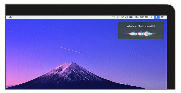 Mac OS 10 12 Siri