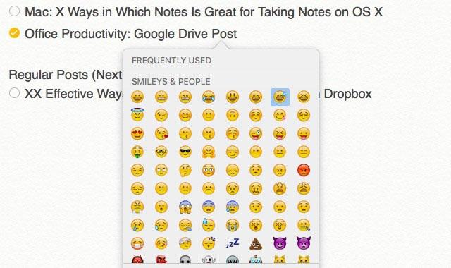 Notes app scr4