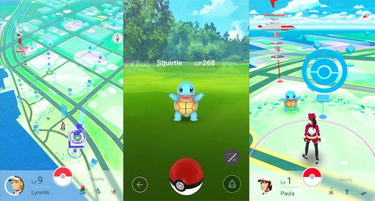 Pokémon Go scr1